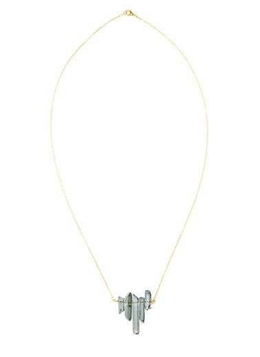 Amulette Jewel Kolye Altın